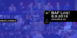 BAF Live! sijoittajia, start-up, verkostoidu